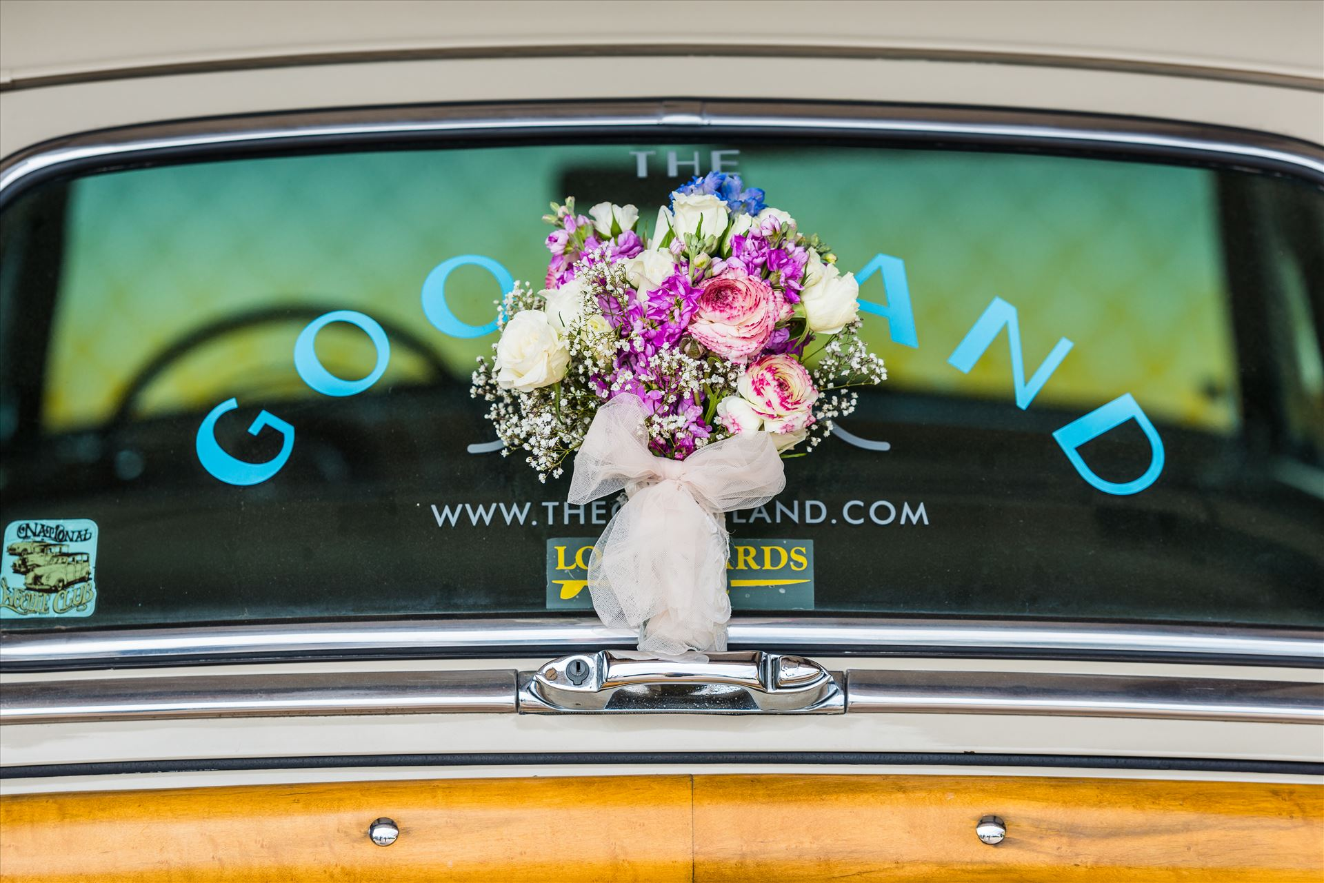 Kimpton Goodland Hotel Santa Barbara Goleta California Bride's Bouquet -  by Sarah Williams
