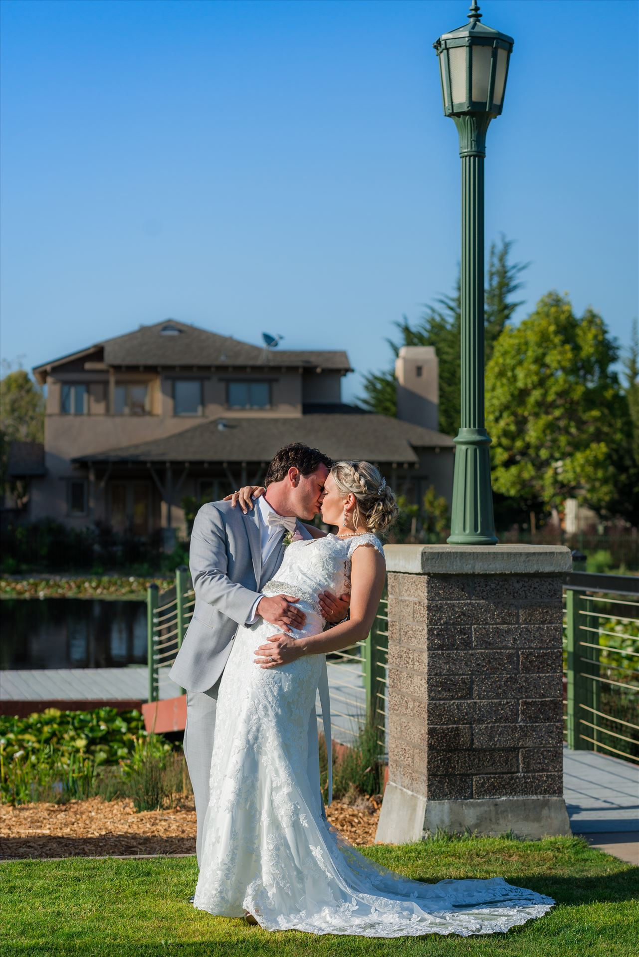 SP Gallery-9345.JPG - Cypress Ridge Pavilion Wedding Photography by Mirror's Edge Photography in Arroyo Grande California.  Bride and Groom dip by Sarah Williams