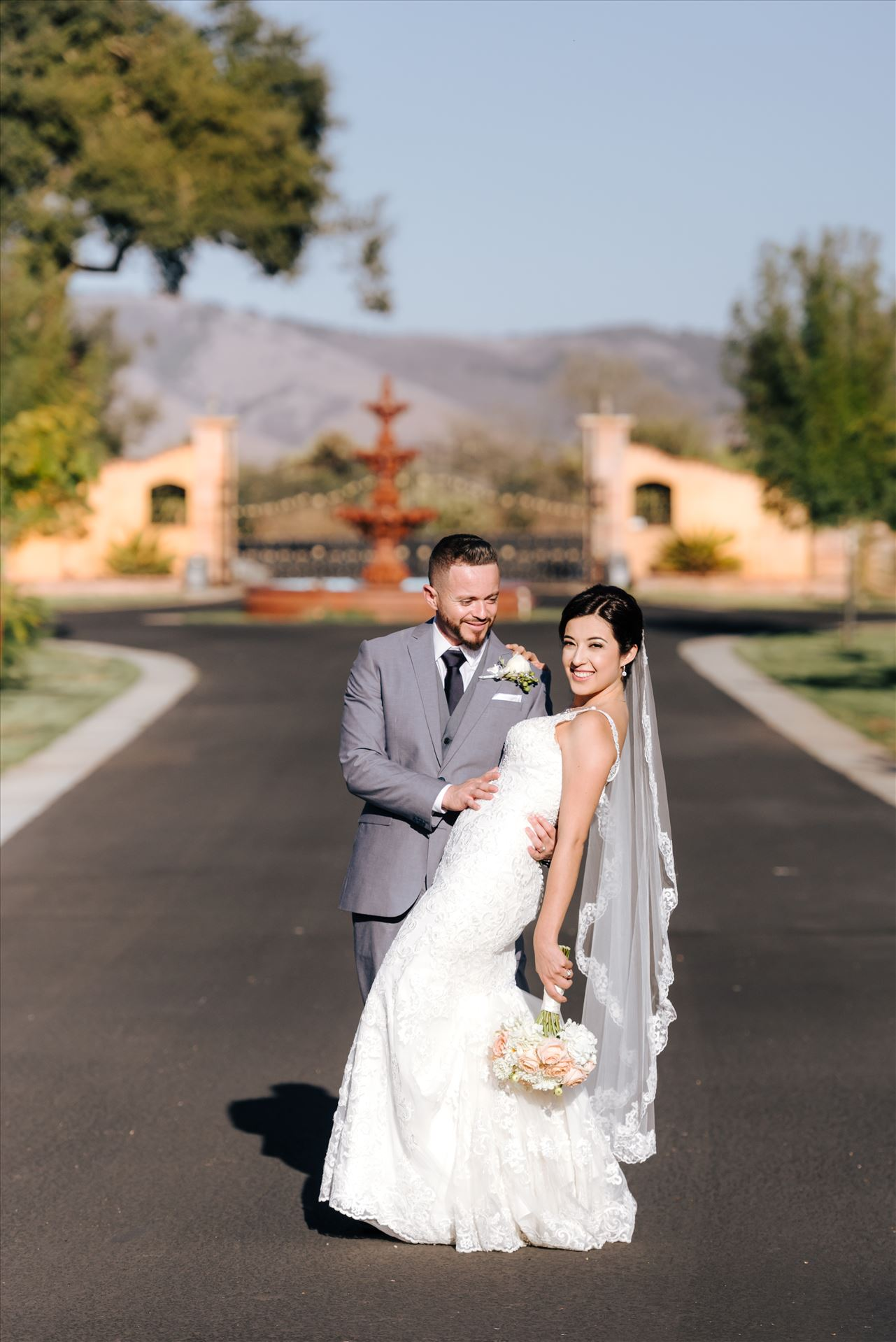 FW-5336.JPG - Arroyo Grande California Country Chic and Elegant wedding by Mirror's Edge Photography, San Luis Obispo County Wedding Photographer.  Bride and Groom at A&C Ranch. by Sarah Williams