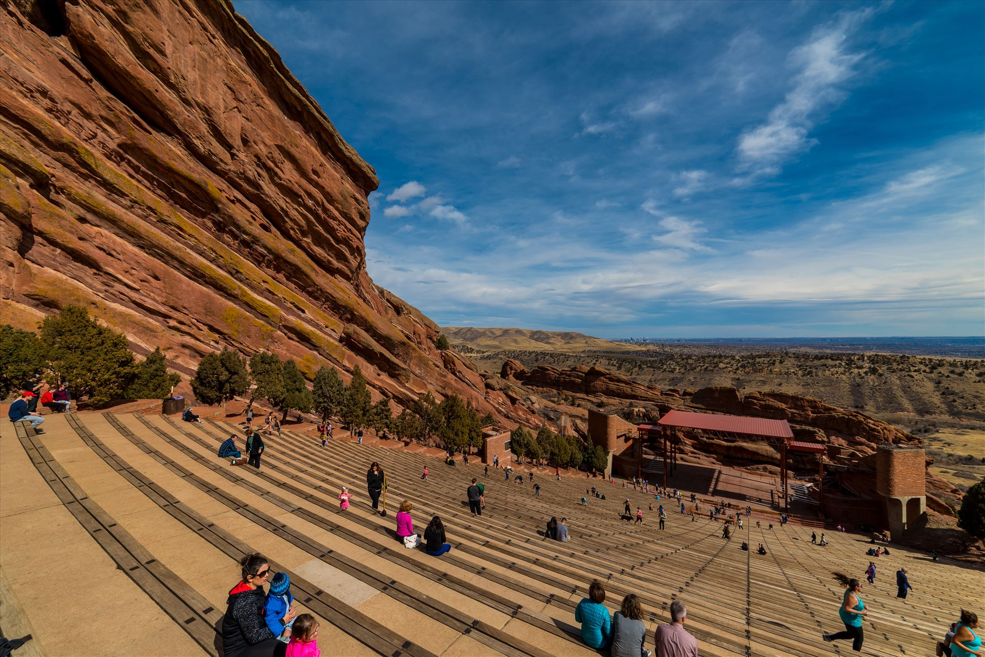 Red Rocks Amphitheater 2 -  by Sarah Williams