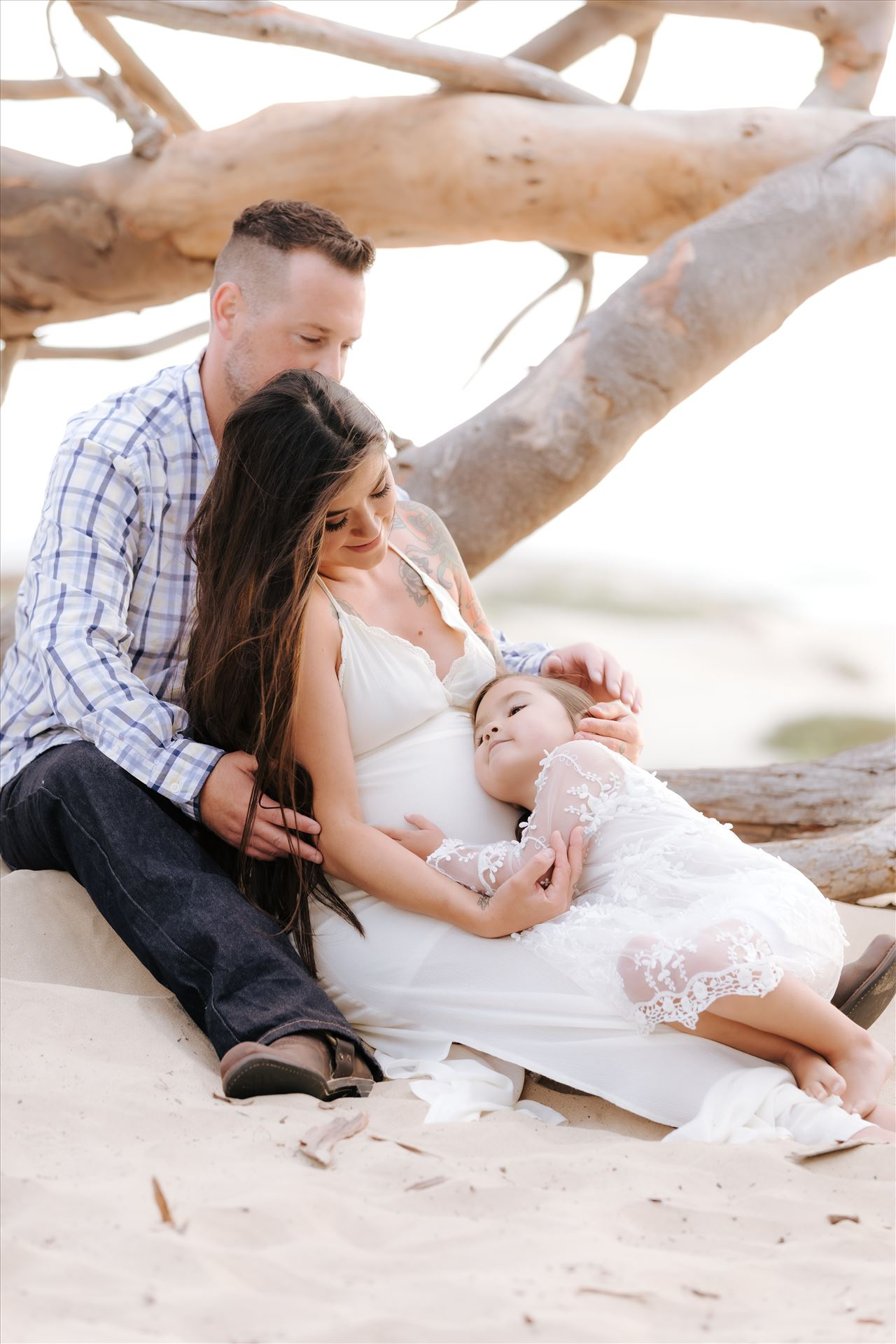 Ali Marie and Cody Maternity Session 44 -  by Sarah Williams