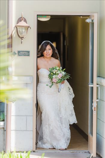 Wedding at Dolphin Bay Resort and Spa in Shell Beach, California by Sarah Williams of Mirror's Edge Photography, a San Luis Obispo County Wedding Photographer. Bride at Dolphin Bay Resort