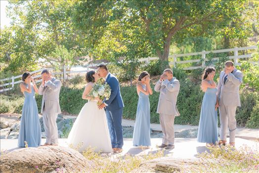 Mirror's Edge Photography captures Maryanne and Michael's magical wedding in the Secret Garden at the iconic Madonna Inn in San Luis Obispo, California. The Bridal party