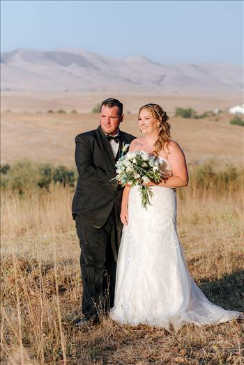 Mirror's Edge Photography, a San Luis Obispo Wedding Photographer, captures a wedding at the Historic Dana Adobe in Nipomo California.  Sunset photos with the bride and groom romantic couple