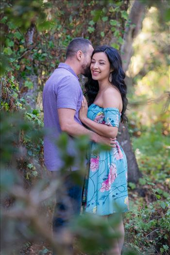 Los Osos State Park Reserve Engagement Photography and Wedding Photography by Mirror's Edge Photography.  Romantic couple