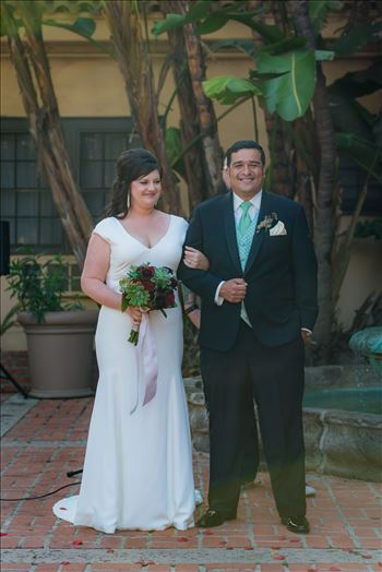 Wedding photography at the Historic Santa Maria Inn in Santa Maria, California by Mirror's Edge Photography. After saying I Do.