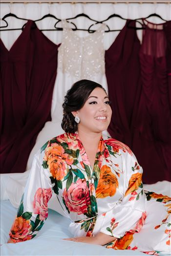 Sarah Williams of Mirror's Edge Photography captures the gorgeous fairy tale wedding day of Victoria and Esteban at the Castle Noland Wedding Venue in San Luis Obispo, California.  The gorgeous Bride bridal portrait