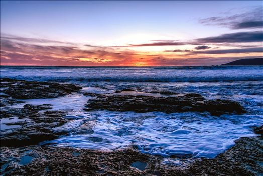 Shell Beach Tide Pools Last Light.jpg -