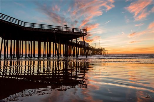 Fairytale Sunset Pismo Pier Reflection.jpg -