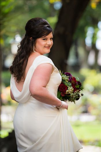 Wedding photography at the Historic Santa Maria Inn in Santa Maria, California by Mirror's Edge Photography. Gorgeous Bride close up bridal photography.
