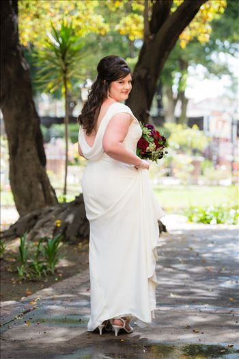 Wedding photography at the Historic Santa Maria Inn in Santa Maria, California by Mirror's Edge Photography. Gorgeous Bride
