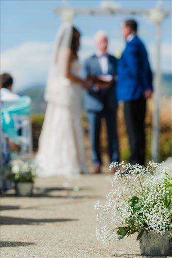 Wedding at Dolphin Bay Resort and Spa in Shell Beach, California by Sarah Williams of Mirror's Edge Photography, a San Luis Obispo County Wedding Photographer. Down the aisle at Spyglass