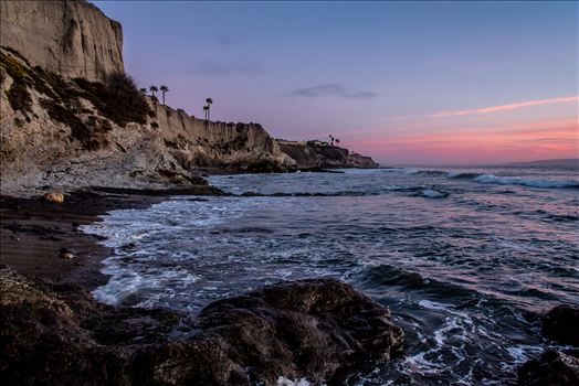 Shell Beach Cliffs Pink Sunset.jpg -