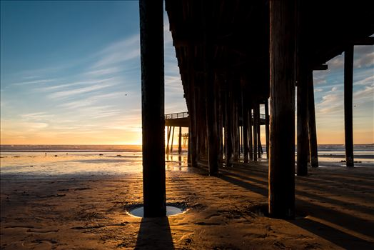Pismo Beach California Pier at Sunset