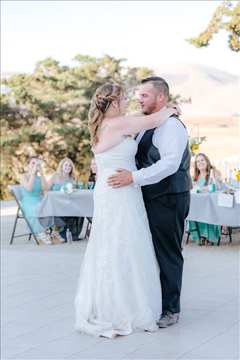 Mirror's Edge Photography, a San Luis Obispo Wedding Photographer, captures a wedding at the Historic Dana Adobe in Nipomo California.  First dance.
