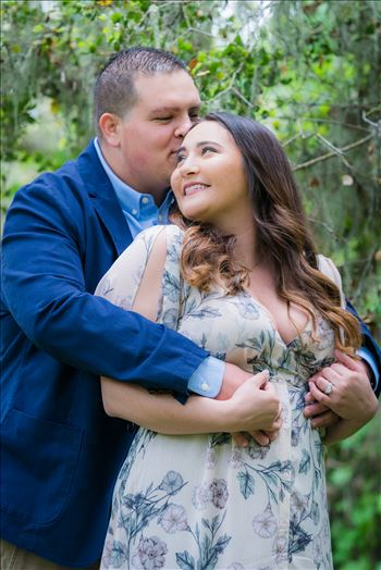 Los Osos Oaks Nature Reserve Engagement Photography Session by Mirror's Edge Photography in magical forest setting