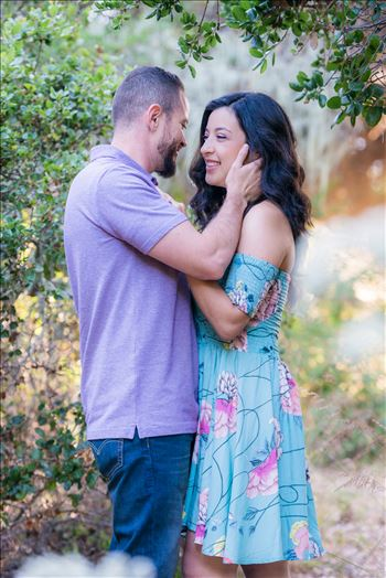 Los Osos State Park Reserve Engagement Photography and Wedding Photography by Mirror's Edge Photography.  Romance