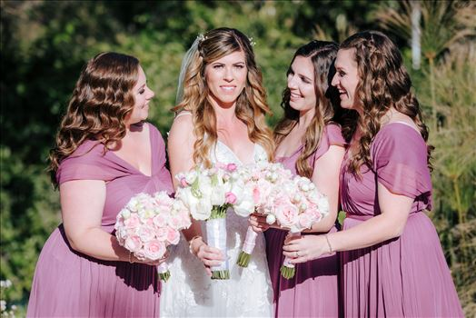 Mirror's Edge Photography, a San Luis Obispo Wedding and Engagement Photographer, captures Rashel and Brian's Wedding Day at the Madonna Inn in San Luis Obispo. The Bridesmaids.