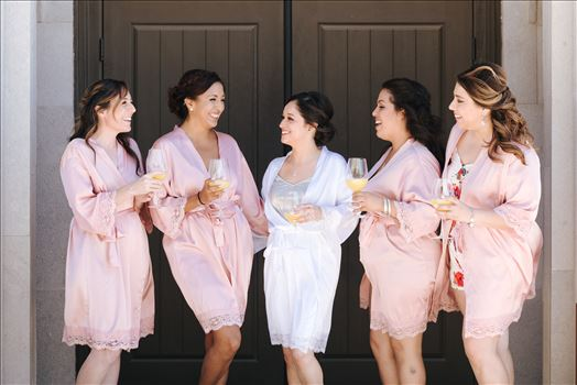 Mirror's Edge Photography captures Edith and Kyle's wedding at the Tooth and Nail Winery in Paso Robles California.  Bride and her Bridesmaids